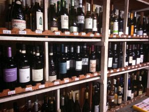 An extensive collection of wines from around the world located in the wine cellar below Thornton Hall Hotel & Spa.